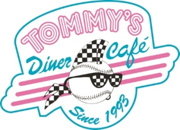logo tommy s diner. Black Bedroom Furniture Sets. Home Design Ideas